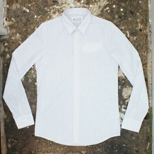 NEW Maison Martin Margiela White Shirt with Grey Streaks GENUINE RRP: £190 BNWT