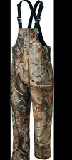 From Cabela's Weatherproof Insulated 125 GM Hunting Bibs Realtree AP Camo NEW