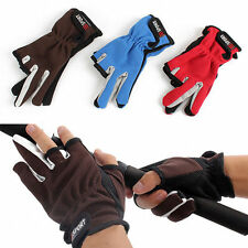 Skid proof Fishing Gloves Anti Slip Fishing Tackle Gloves for Sport SS