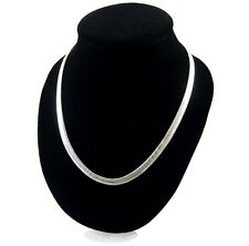 New Style 1PC Men Women Sterling Silver Plated 4MM Snake  Necklace Chain Jewelry