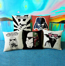 Star Wars Pillow Case Square Home Ikea Sofa Cushions Cover for Armchair Couch