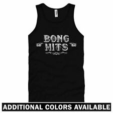Bong Hits Unisex Tank Top - Men Women XS-2X - Marijuana Cannabis Weed Smoke Pot