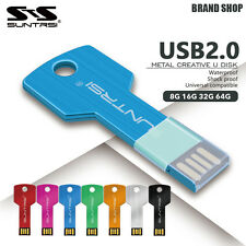 Suntrsi USB2.0 Flash Drive Metal Key Waterproof 48163264 Metal costume
