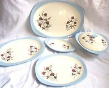 Copeland Spode SUMMER DAYS s3304 Platters, Vegetable Tureen Stand VGC