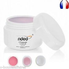GEL ONE PHASE 5/15/50 ML 3 IN 1 MANICURE FAKE NAILS UV GEL NDED DELIVERY 48 H