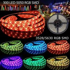 5M SMD5050 3528 5630 3014 300leds LED Strip Lights Tape Roll For Home Decor Xmas