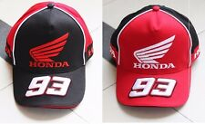 HONDA MOTO GP Marc Marquez 93 baseball Cap hat Motorcycle Racing adjustable