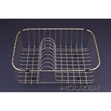 "Houzer RB-2400 Wirecraft Rinsing Basket Plate Rack 19"" X 16-1/4"" Stainless Steel"