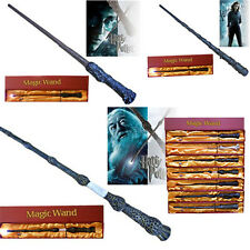 New LED Light Harry Potter Hermione Dumbledore Gryffindor Magic Wand In Gift Box