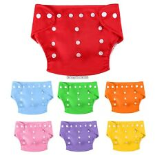 New Baby Cloth Diaper Nappies Reusable Adjustable Breathable Nappy One Size ED