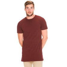 New As Colour Tall T-Shirt in Burgundy | Mens Mens Tees