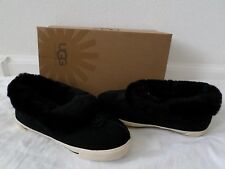 New UGG Australia Kids Rylan Slip On Slippers Shoes Black Size 13 1 2