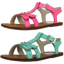 Girls Clarks Casual Patent Leather Sandals -Loni Lola
