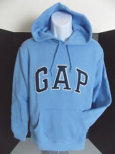 GAP Men's Light Blue Arc Logo Hoodie Sweatshirt Size XS,XL NWT