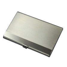 Great Stainless Steel Pocket Name Credit ID Business Card Holder Box Metal Case