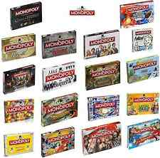 MONOPOLY BOARD GAMES - BEST FAMILY ENTERTAINMENT GAMES - OVER 8 + YEARS