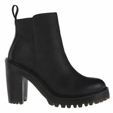 Dr.Martens Magdalena Polish Wyoming  Black Womens Boots