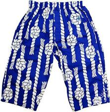 Vivienne Westwood Man Japan Rope Knot Orb Embroidered Room Shorts-Size M/L-Blue