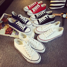 Men Women sweethearts Low shallow mouth Canvas shoes Students single shoes  Can