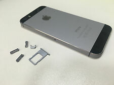 SPACE GRAY Replacement Housing Back Door Cover   Mid Frame Assembly iPhone 5S 5G