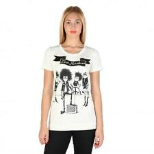 Love Moschino Clothing Women T-shirts White 74794 Deal BDX