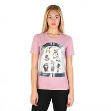 Love Moschino Clothing Women T-shirts Pink 74766 Outlet BDX