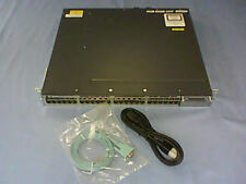 Cisco Catalyst (WS-C3750X-48T-S) 48-Ports Rack-Mountable Switch Managed