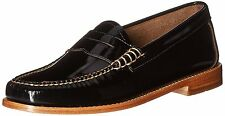 Women's G.H. Bass Shoes SlipOn Whitney Weejuns Penny Loafer Black Patent Leather