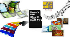 Kingston micro SD SDHC TF Card CLASS 10 UHS-I U1 Memory Card 8GB 16GB 32GB