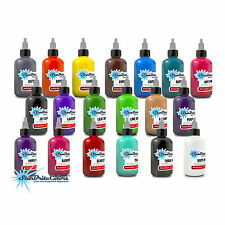 Starbrite Tattoo Ink Authentic Colors 1/2oz 2 Bottle Set