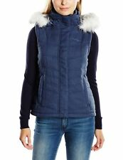 Craghoppers Ladies Womens Kilnsey Insulated Bodywarmer Vest in Thunder Grey