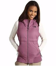 THE NORTH FACE WOMENS HOODED VEST DOWN FILL HyVent® 2L PURPLE SIZE M L NEW