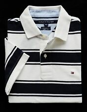 NWT Tommy Hilfiger Men's Short Sleeve Striped Polo Size M