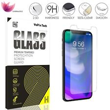 "New Retail Box 9H+ Tempered Glass Screen Protector for Apple iPhone 7 4.7"" Lot"