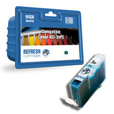 COMPATIBLE CANON BCI-3ePC / BCI-3PC PHOTO CYAN SINGLE PRINTER INK CARTRIDGE