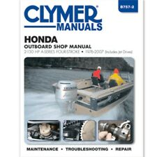 Clymer Honda 2-130 HP Four-Stroke Outboards (includes Jet-Drives)  1976-2007