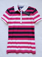 NWT Tommy Hilfiger Women's Short Sleeve Striped Polo Size: XL