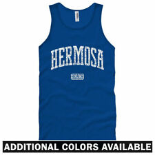Hermosa Beach California Unisex Tank Top - Men Women XS-2X - Gift Best Little CA