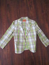 JUICY COUTURE Plaid Girl Jacket Size Small