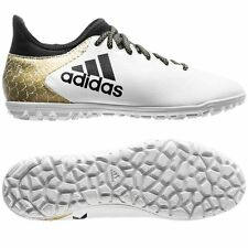 adidas X 16.3 TRX TF Turf  2016 Soccer Shoes White / Black / Gold Kids - Youth