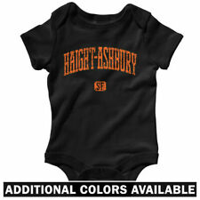 Haight Ashbury SF One Piece - Baby Infant Creeper Romper NB-24M - Gift Hippie CA