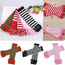 Cute Baby Kids Children Girls Stripes Leggings Legs Warmers Soft Socks Sock - DD