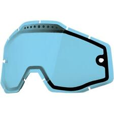 100% Dual Vented Lens for Racecraft/Accuri Goggles