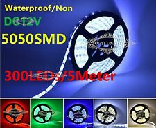 XMAS 5M 5050  SMD LED Strip Light IP65/Non Waterproof DC 12V Multi-colr 300LEDs
