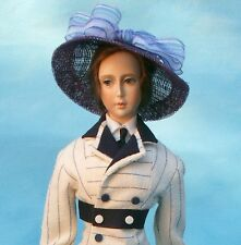 """1912 Rose's Boarding Suit Titanic Era Sewing Pattern for a 17"""" Doll #97-17"""