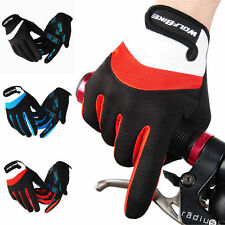 Full Finger Racing Motorcycle Gloves Cycling Bicycle MTB Bike Riding Gloves NEW
