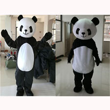 Panda Bear Mascot Costume Cartoon Fancy Dress Adults Party Lovely Professional