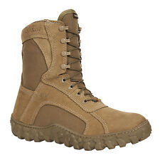 Rocky S2V Mens Brown Leather GTX Insulated Tactical Military Boots