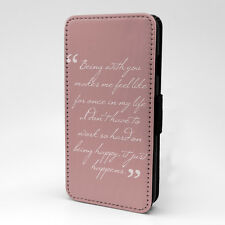Saying Quote Flip Case Cover For Samsung Galaxy - A1237
