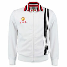 Manchester United FC Official Soccer Gift Mens 1977 Away Retro Track Jacket